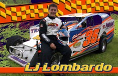 LJ Lombardo Custom Designed Hero Card by StrongKeepsakeImages.com