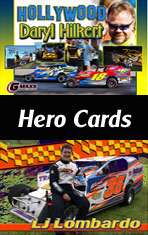Custom Racing Hero Cards