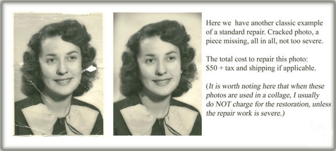 Photo Restoration Services by StrongKeepsakeImages.com